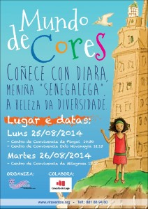 CARTEL MUNDO DE CORES