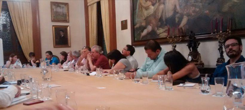 Reunión co Concello sobre inmigración