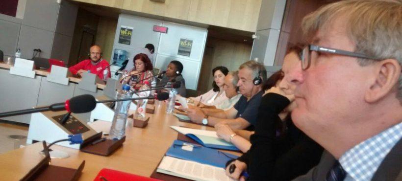 Reunimonos coa Comisaria Europea de Asuntos Sociais en Bruselas